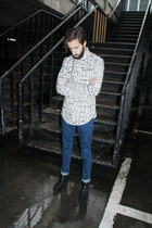Clarks shoes - Topman jeans - Zara shirt