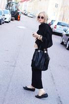 black ALL CLOTHING INFO ON MY BLOG bag