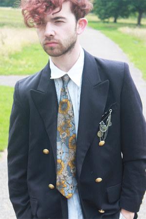 floral silk tie Topman by Gelfer tie