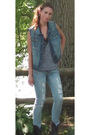 Blue-forever-21-vest-blue-american-eagle-jeans-gray-american-apparel-top-b