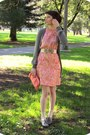 Heather-gray-oxfords-forever-21-shoes-salmon-floral-print-vintage-dress-cora