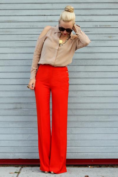 Equipment top - Zara pants