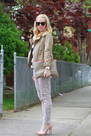 Christian Louboutin shoes - BCBG jeans - H&M jacket - Forever 21 shirt - asos br