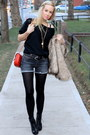 Seven-shorts-michael-kors-vest