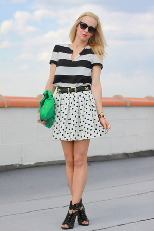 foley &amp; corinna bag - Dolce Vita shoes - Zara shirt - Zara skirt