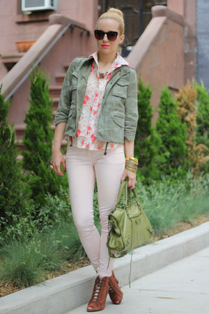 mystique boutique shirt - sam edelman shoes - Zara jacket