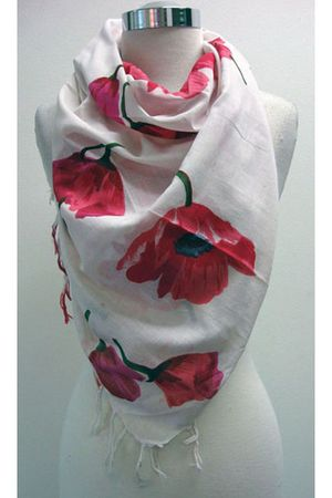 pink BrowNY scarf