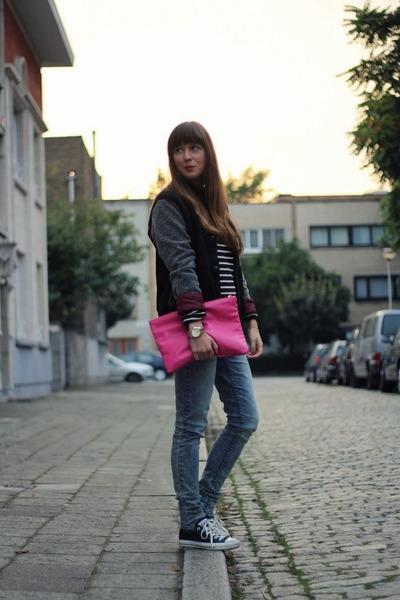 varsity maison scotch jacket - skinny Cheap Monday jeans