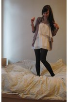 Topshop dress - Urban Outfitters cardigan