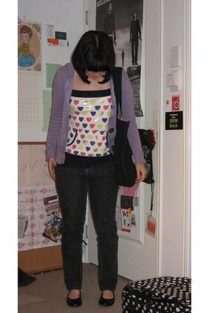 Just jeans jacket - Target Australia jeans - Valley Girl shirt