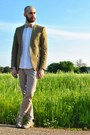 White-ovs-shirt-dark-khaki-zara-blazer-tan-cj-creations-pants