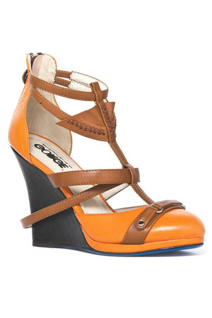 toffee wedges ClubCouture shoes