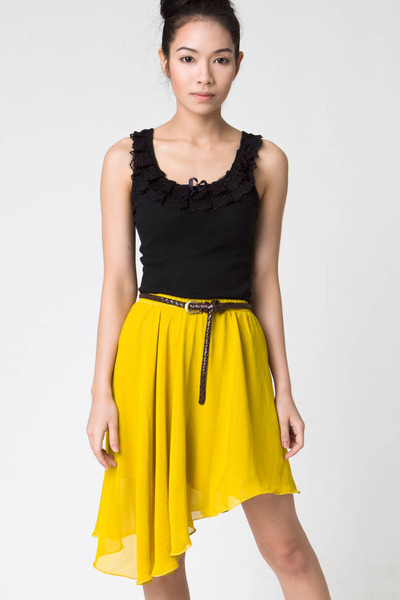 yellow ClubCouture skirt