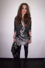 Black-zara-jacket-black-zara-boots-gray-h-m-dress-black-zara