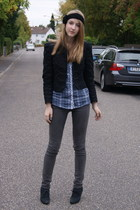 Zara shirt - Zara jacket - Zara shoes - Urban Outfitters accessories - Cheap Mon
