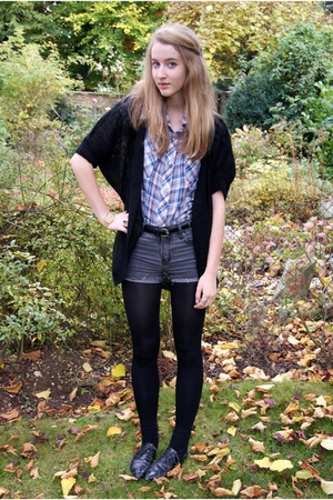 Urban Outfitters shirt - H&M jacket - Cheap Monday shorts - Urban Outfitters sho