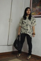 Bleach Catastrophe shirt - lucca pants - Bleach Catastrophe purse - Possibility