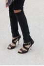 Black-h-m-jeans-white-forever-21-t-shirt-crimson-zara-heels