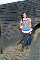 tawny pull&bear shoes - dark gray MET jeans jeans - blue James Long for Asos jum