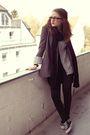 Gray-h-m-blazer-black-h-m-top-gray-h-m-cardigan-black-h-m-leggings-black