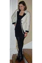 ann demeulemeester blazer - Wolford skirt - Kors by Michael Kors boots - Hermes 
