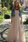 Light-pink-tulle-gown-windsor-store-dress-black-dabney-loren-hope-necklace