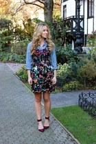 magenta floral BB Dakota dress
