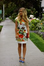 red floral luluscom dress