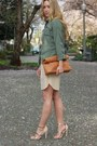 Nude-silk-aritzia-dress-tawny-clutch-beginning-boutique-bag