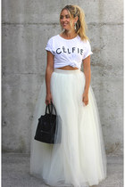 off white tulle Beautulleful skirt