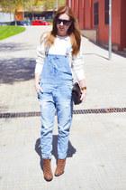 Zara romper - Chanel 255 bag