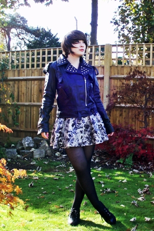 TKmaxx jacket - H&M skirt - Office shoes
