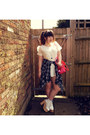 Plaid-shirt-uniqlo-shirt-sheinside-dress-pink-clear-bag-forever-21-bag