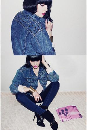 VJ-style jacket - merrin & gussy ring