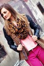 Bronze-stradivarius-jacket-black-pearlz-boots-tawny-reserved-scarf