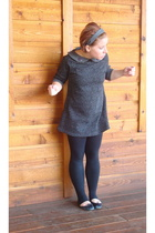 Urban Outfitters dress - forever 21 pants - London Sole shoes