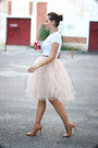 Nude-pumps-zara-shoes-eggshell-tulle-handmade-skirt