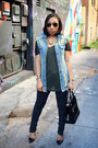 Zara-jeans-zara-shirt-shoedazzle-purse-zara-sandals-denim-oasap-vest