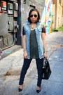 Zara-jeans-zara-shirt-shoedazzle-purse-zara-sandals-denim-oasap-vest