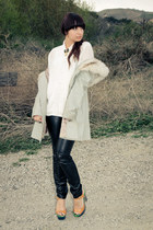 furleather vintage coat - kierra Sole Society shoes