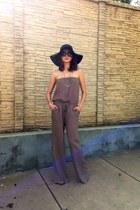 Forever 21 hat - Chanel sunglasses - Angl romper