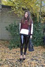 Black-topshop-leggings-black-yves-saint-laurent-bag-brick-red-asos-jumper