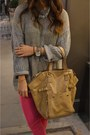 Camel-saint-laurent-bag-bubble-gum-topshop-jumper-white-converse-sneakers
