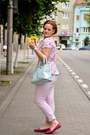 Hot-pink-zara-shoes-sky-blue-orsay-bag-sky-blue-peplum-h-m-top