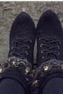 Black-newlook-boots-dark-gray-shoppalu-dress-gold-topshop-socks