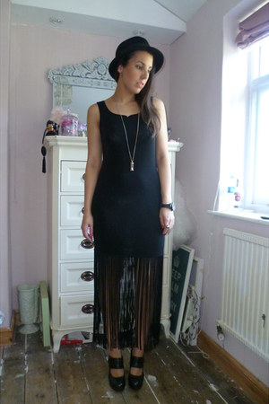 Vintage  Urban Outfitters dress - hour glass Topshop necklace