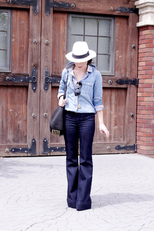 sold design lab jeans - Jcrew hat - Jcrew top - Jcrew top
