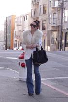 JBrand jeans - Target blazer - Alexander Wang bag - vintage blouse