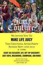 Join us at the Juicy Couture x Chictopia Party!