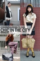 Congratulations to our Chic in the City Winners!